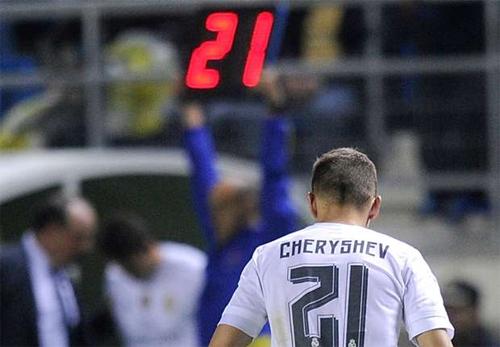 Cheryshev khiến Real bỗng dưng bị loại khỏi một giải đấu mùa này. Ảnh: Reuters
