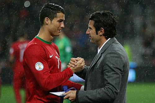 Sau Figo, Ronaldo là người gánh vác tuyển Bồ Đào Nha. Ảnh: AFP.