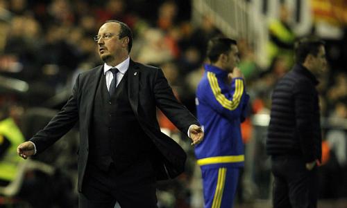 Benitez chỉ đạo trận cuối trong cương vị HLV Real. Ảnh: AFP.