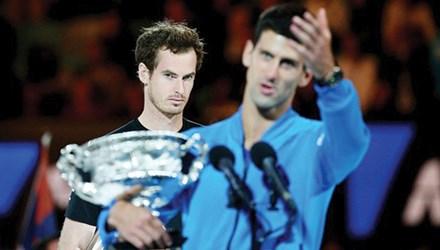 Murray sẽ không chịu đứng sau lưng Djokovic nhờ lên chức bố trong năm 2016?. Ảnh: GETTY IMAGES.
