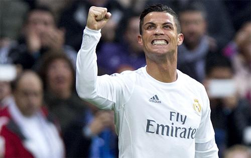 Ronaldo là cầu thủ ghi nhiều bàn nhất năm 2015 với 58 lần lập công. Ảnh: Reuters