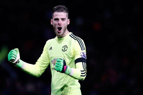 De Gea là cầu thủ đẳng cấp thế giới duy nhất trong đội hình Man Utd lúc này. Ảnh: Reuters.