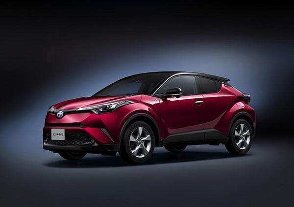 Vượt Mazda CX-5, Toyota C-HR giành giải 'chiếc xe của năm' tại Thái Lan