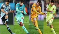 Messi với khả năng sút phạt thần thánh