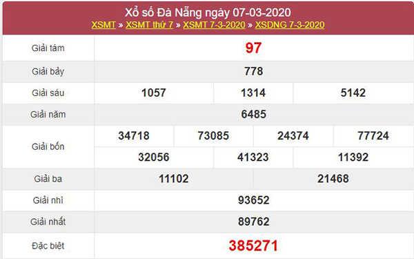 Dự đoán kqxs Đà Nẵng 11/3/2020 - Soi cầu XSDNG thứ tư