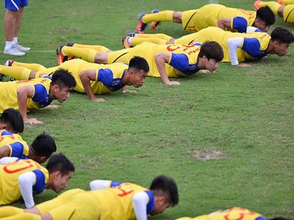 Cách nâng cao thể lực cho cầu thủ bóng đá