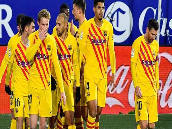 Barca gặp khó khăn về tài chính