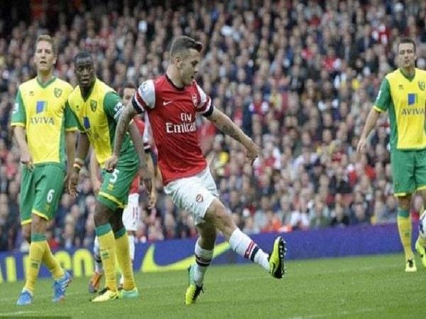 Jack Wilshere (Arsenal vs Norwich City, 2013)