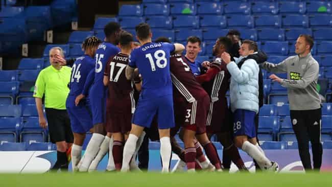 Chelsea và Leicester bị FA buộc tội sau vụ ẩu đả trên Stamford Bridge