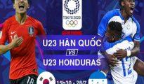 Soi kèo U23 Honduras vs U23 Hàn Quốc, 15h30 ngày 28/7